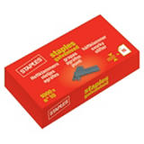 Staples Grapas mini nº 10 galvanizadas