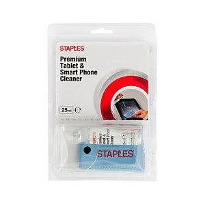 Staples Kit de limpieza superior para tablets y smartphones