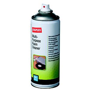 Staples Limpiador multiusos en espuma, 400ml, sin HFC