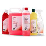 Staples Limpiador para baños spray, fragancia de pino, líquido transparente, 750 ml
