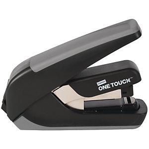 Staples One-Touch™ CX4 Cucitrice compatta a mezza striscia e punto piatto Capacità 20 fogli Nero