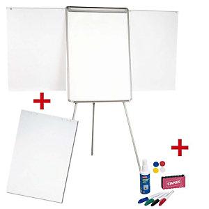 Staples Pack Formación (Caballete superficie magnética + papel + accesorios)