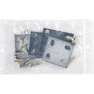 Staples Paquete de 100 bolsas herméticas transparentes de polietileno con autocierre de 120 x 180 mm