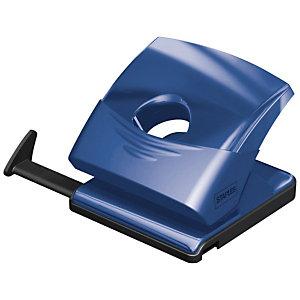Staples Perforatore manuale, 2 fori, Trasparente, Blu