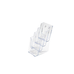 Staples Portadepliant - Dimensioni cm 10,8 x 25,4 x 25,4 h. (f.to 1/3 A4)