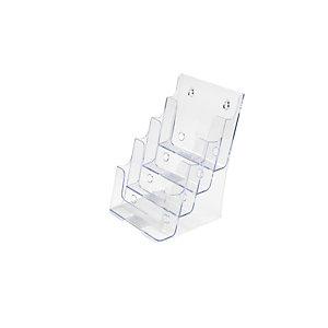 Staples Portadepliant - Dimensioni cm 16,5 x 25,4 x 15,9 h. (f.to A5)