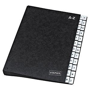 Staples Preclasificador con fuelle numérico A-Z