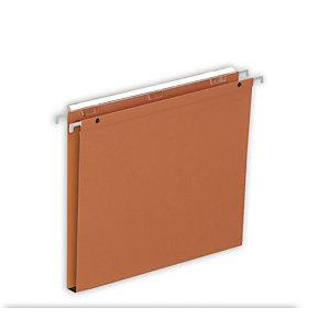 Staples Premium Carpeta colgante lomo 15 mm A4