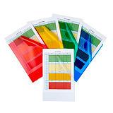 Staples Premium, Dossier uñero, A4, polipropileno rugoso, 140 micras, colores surtidos