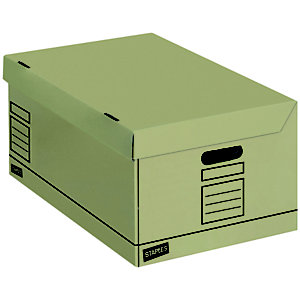 Staples Premium Eco-Kraft Cajón de cartón apilable A4