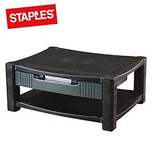 Staples Premium Supporto per monitor regolabile