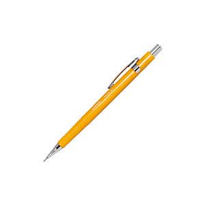 Staples Pro Portaminas, mina HB de 0,9 mm, cuerpo amarillo con grip