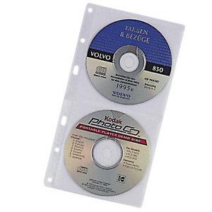 Staples Recambio 5 fundas para 2 CDs