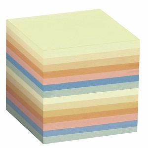 Staples Recharge pour bloc mémo  - 90 x 90 mm - Assortis - 800 feuilles