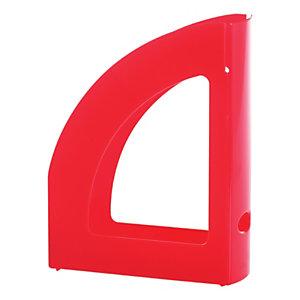 Staples Revistero, poliestireno, 80 x 320 x 250 mm, rojo