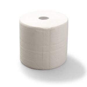 Staples Rouleau d'essuie-mains en papier, double épaisseur, gaufré, 500feuilles, 234mm, blanc