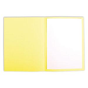 Staples Subcarpeta de cartulina 220 g/m² amarillo limón vivo