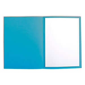 Staples Subcarpeta de cartulina 220 g/m² azul real vivo