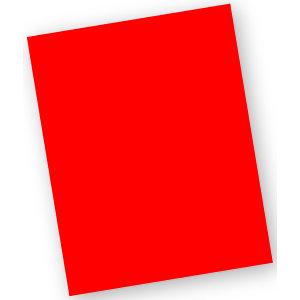 Staples Subcarpeta de cartulina 220 g/m² rojo vivo