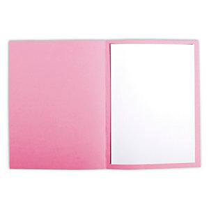 Staples Subcarpeta de cartulina 220 g/m² rosa pastel