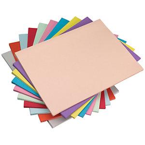 Staples Subcarpeta de papel 60 g/m² amarillo canario pastel