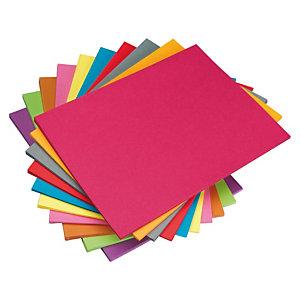 Staples Subcarpeta de papel 80 g/m² surtido vivo