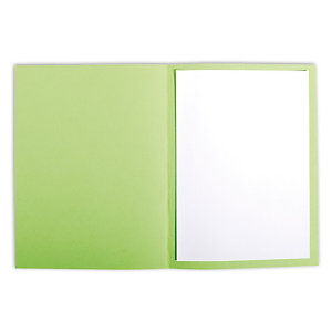 Staples Subcarpeta de papel 80 g/m² verde imperio vivo