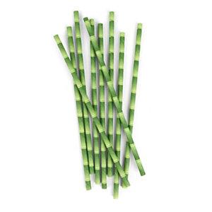 Staples Sustainable Earth Pajita de papel de bambú biodegradable
