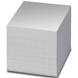 Staples Taco de notas encoladas al lomo 90 x 90 mm blanco roto
