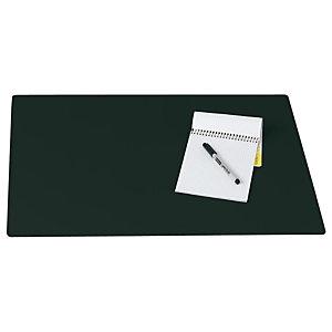 Staples Vade de escritorio, plástico, 630 x 500 mm, negro