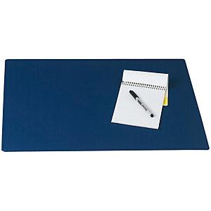 Staples Vade de escritorio, plástico, 650 x 500 mm, azul