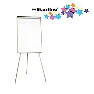 STARLINE Lavagna portablocco - 70x102 cm - bianco - Starline