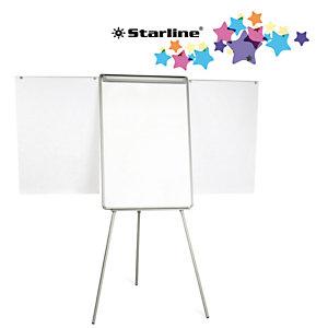 STARLINE Lavagna portablocco con bracci estensibili - 70x102 cm - bianco - Starline