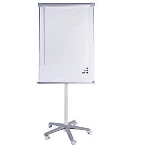 STARLINE Lavagna portablocco mobile - 70x100 cm - bianco - Starline