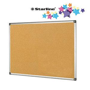 STARLINE Lavagna sughero - 45x60 cm - cornice in alluminio - Starline