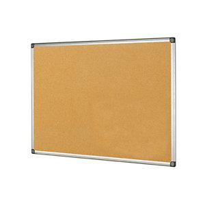 STARLINE Lavagna sughero - 60x90 cm - cornice in alluminio - Starline