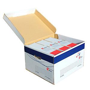 STARLINE Scatola archivio ST-box - con coperchio - 375x265x430 mm - Starline