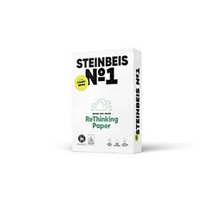 Steinbeis Vision ClassicWhite Papel Multifunción para Faxes, Fotocopiadoras, Impresoras láser e impresoras de inyección de tinta, Reciclado, Blanco, A3 80 g/m²