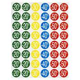 Sticker promotionnel rabais couleur