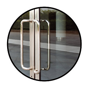 Sticker de signalisation des vitres Take Care by CEP 50 x 5000 mm