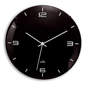 Stille Eleganta klok Orium Ø 29 cm zwarte kleur
