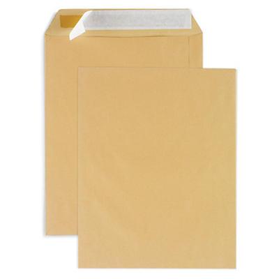 Stor kuvert i kraftpapir - Brun