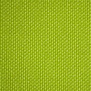 Store à bandes verticales sur mesure - Lames larg. 127 mm - Tissu trevira cs tamisant - Coloris vert anis