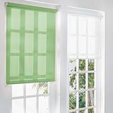 Store à enrouleur sur mesure tissu coloris vert