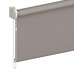 Store enrouleur sur mesure, tissu screen anti-chaleur, coloris gris alu
