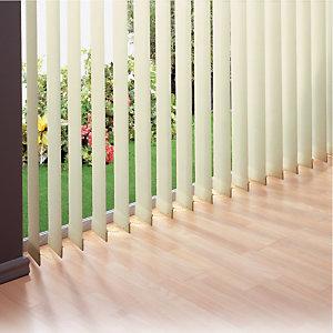 Store à lames verticales sur mesure coloris beige
