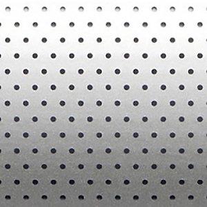 Store vénitien micro perforé sur mesure - Lames aluminium larg. 25 mm - Coloris gris