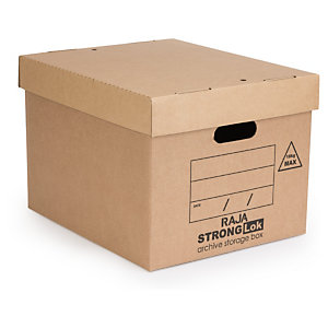 StrongLok archive storage boxes to tidy your office