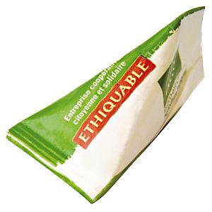 Sucre Ethiquable, 1000 berlingots de 4g.