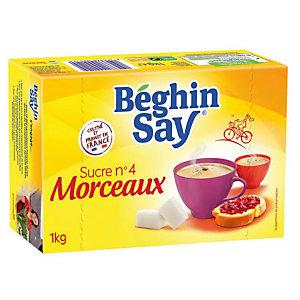 Sucres Béghin Say, en morceaux, boîte de 1 kg